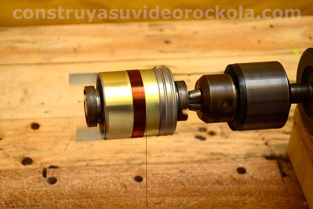 Construccin de la bobina de un parlante manufacture voice - Como poner fibra de vidrio ...