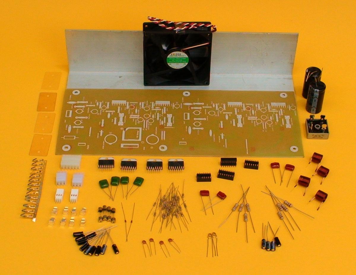 Diagrama De Amplificador Audio W Pdf Eletrnica Campo Gt Amplifiers 40w Amplifier Using Tda2030 L7583 Next Un Muy Buen Para Todos Ustedes