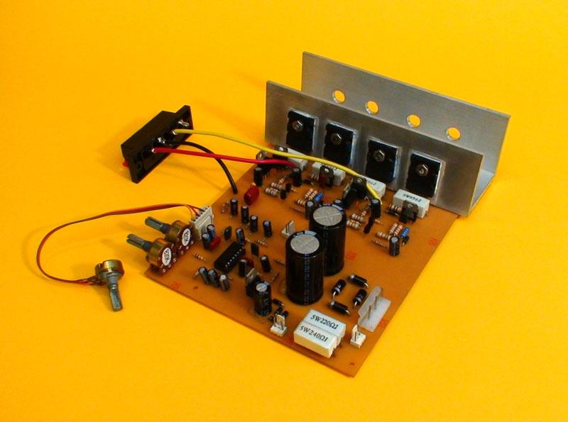 Circuito Amplificador : Amplificador de watts para video rockola