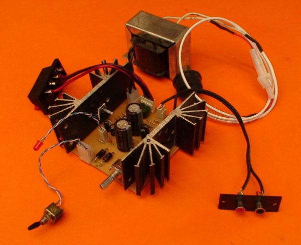 Amplificador de 30W con TDA 2030