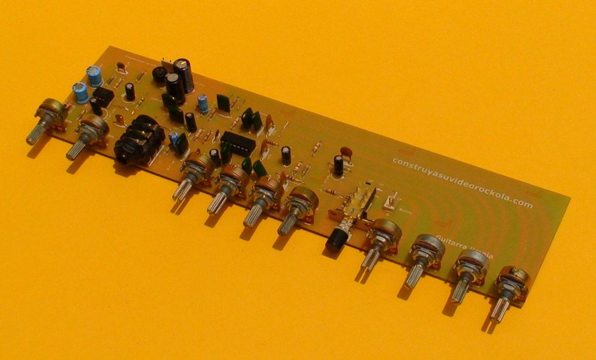 Circuito Guitarra Electrica : Construya su videorockola gt preamplificador para