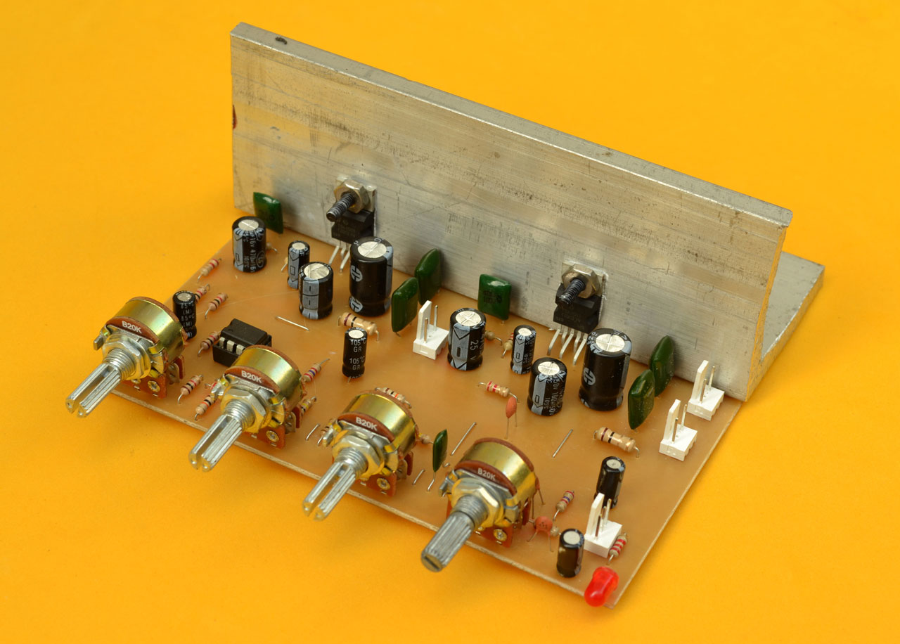 Proyect   tda2003 on diagrama de amplificador audio