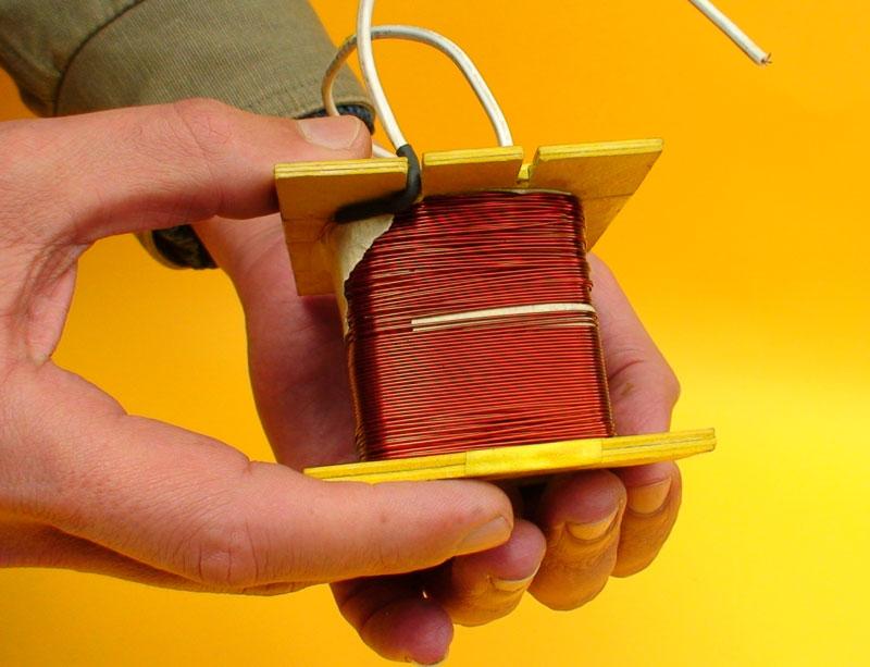 Como construir um transformador Link corrigido Transformador21