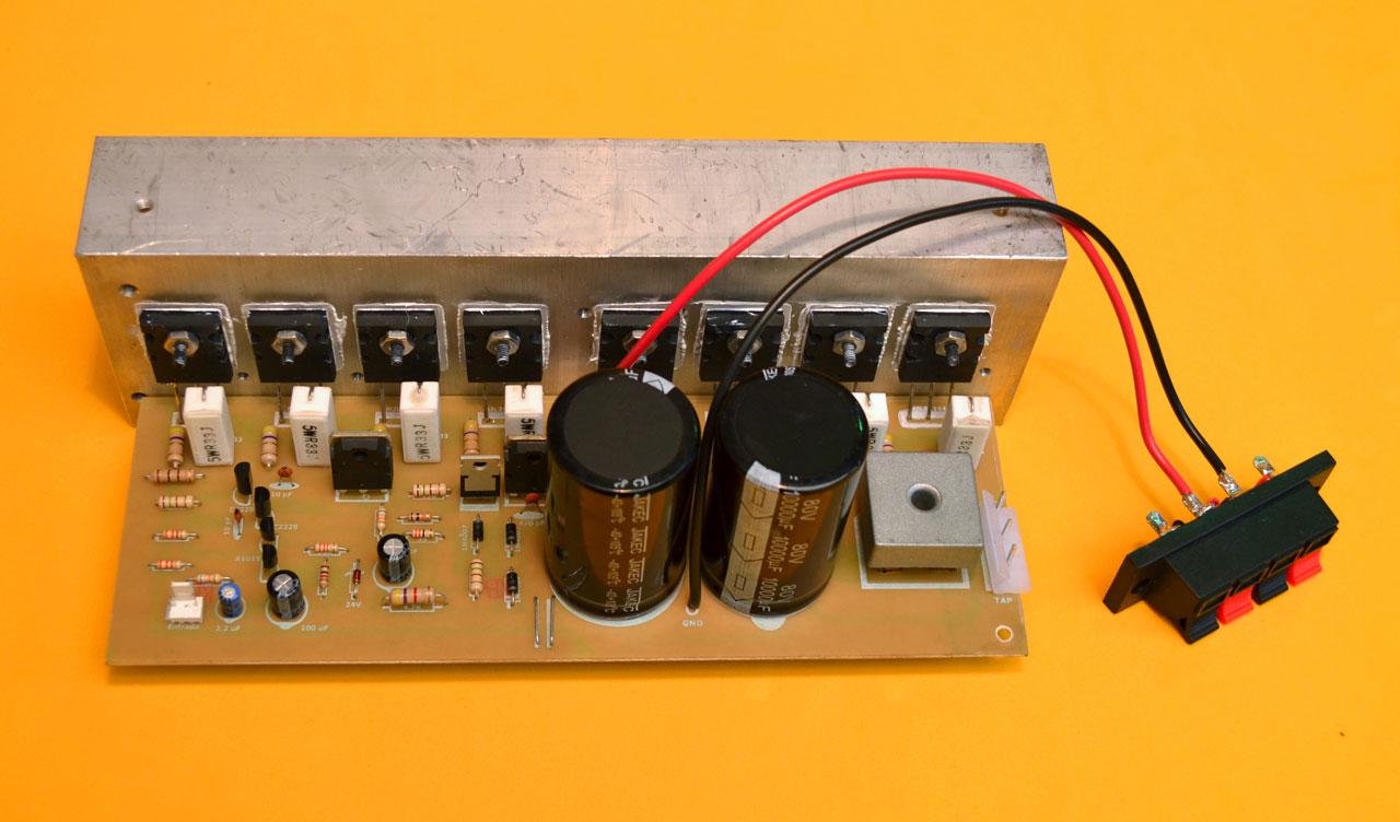 Circuito Impreso De Amplificador De 3000w : Proycetos electronicos diy construya un amplificador