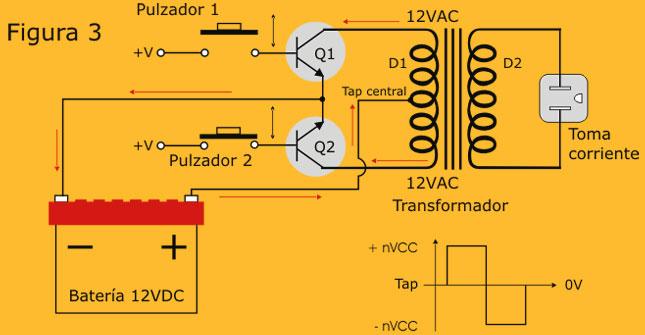 Circuito Cc : Circuito convertidor de cc a ca proyecto e implementación
