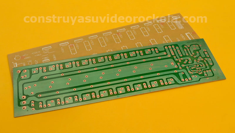Circuito Impreso De Amplificador De 3000w : Amplificador zener estereo de w parte